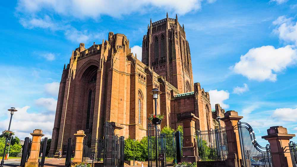 Attractions in England - Liverpool Cathedral