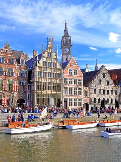 Attractions in Belgium - Boat tours