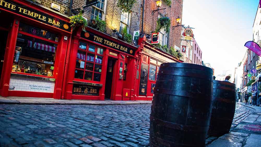 Dublin's Temple Bar, Ireland