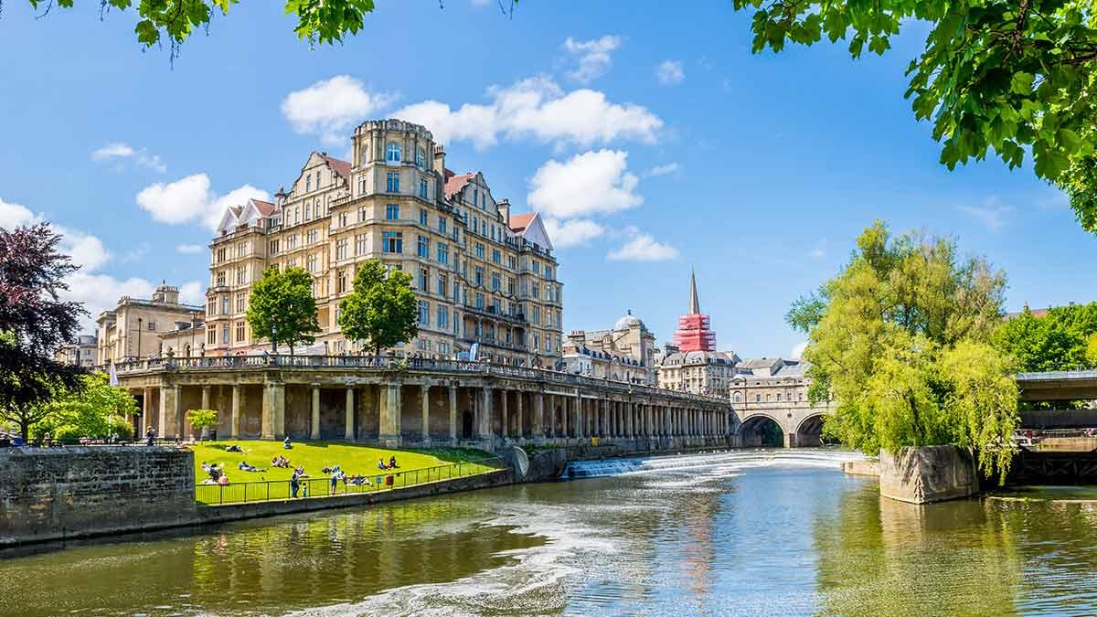 Le fleuve Avon à Bath