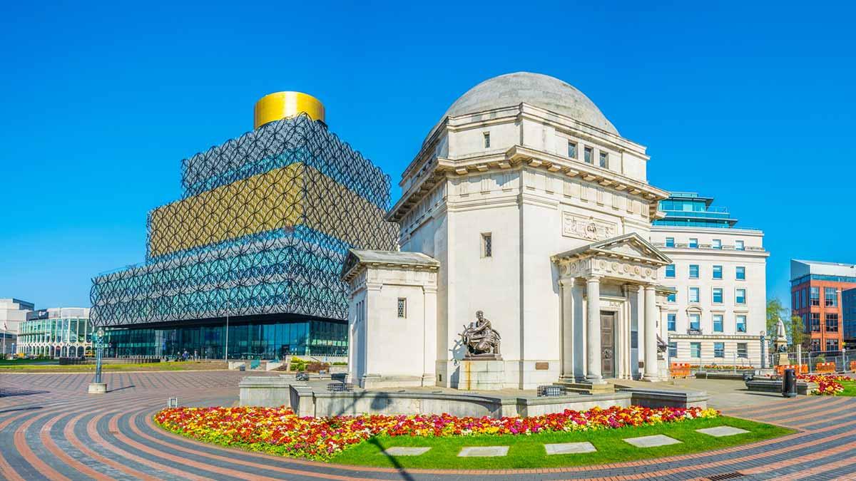 Bibliotheek in Birmingham
