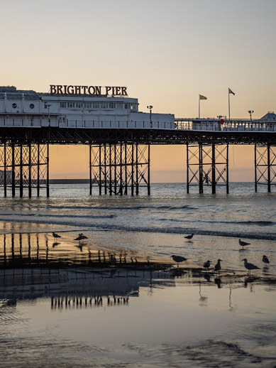 Palace Pier in Brighton