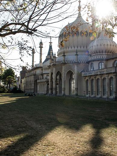 Royal Pavilion en Pavilion Gardens