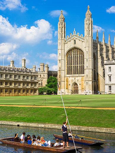 Punt trip in Cambridge