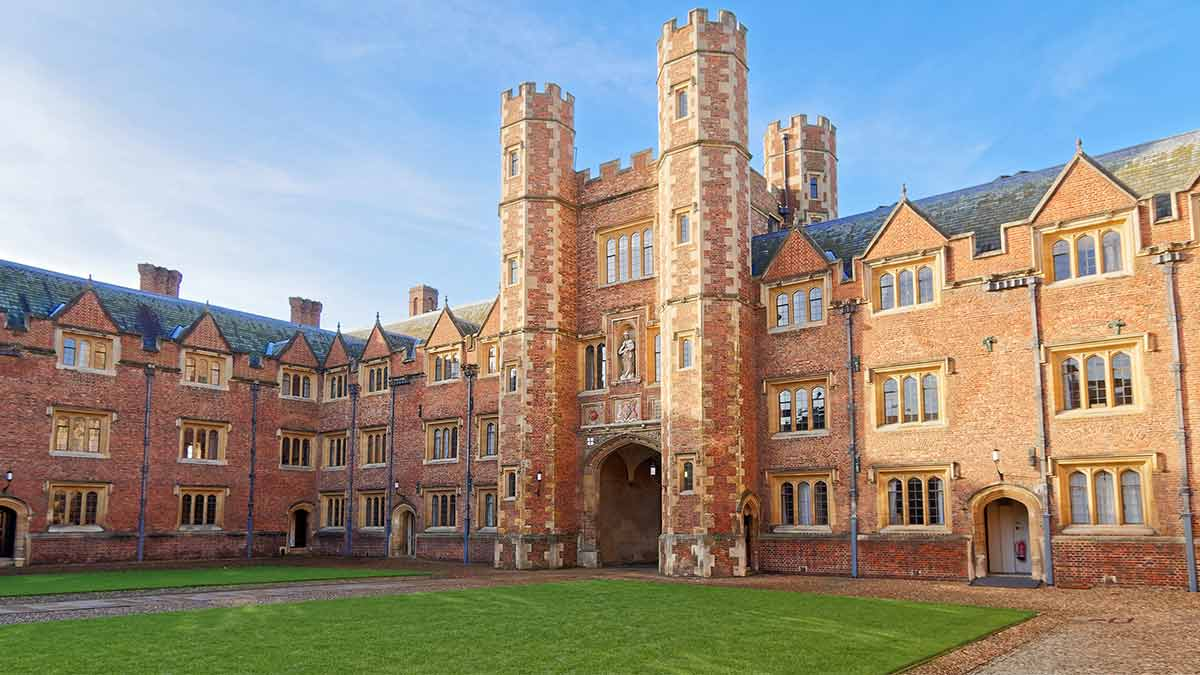 St. Johns College in Cambridge