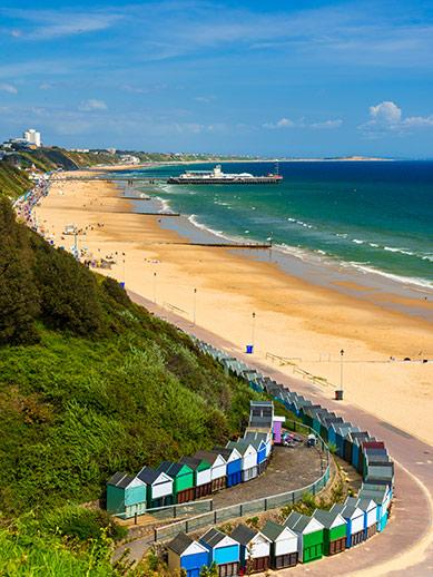 Bournemouth dans le Dorset