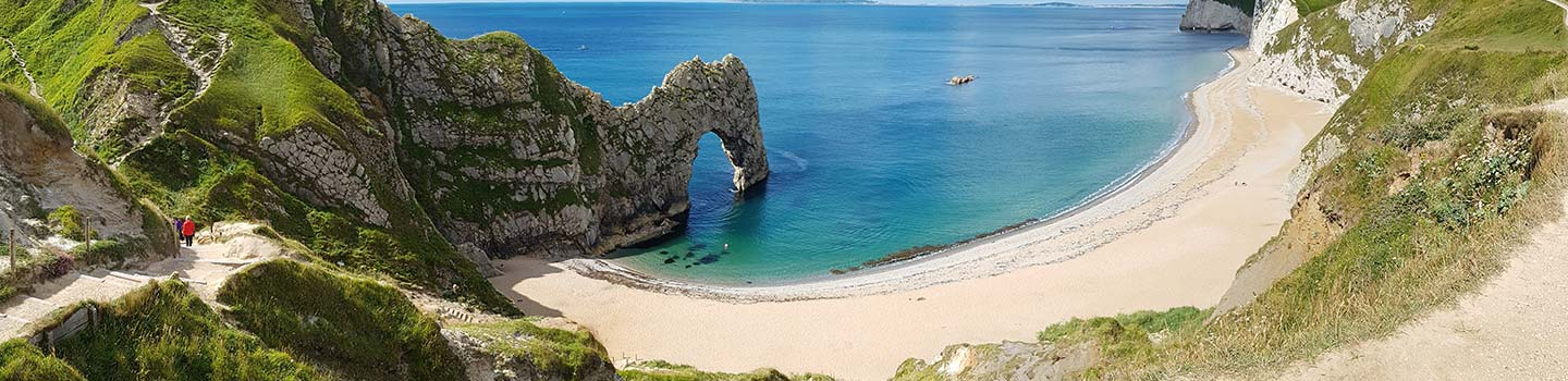 Durdle Door-Juraküste in Dorset
