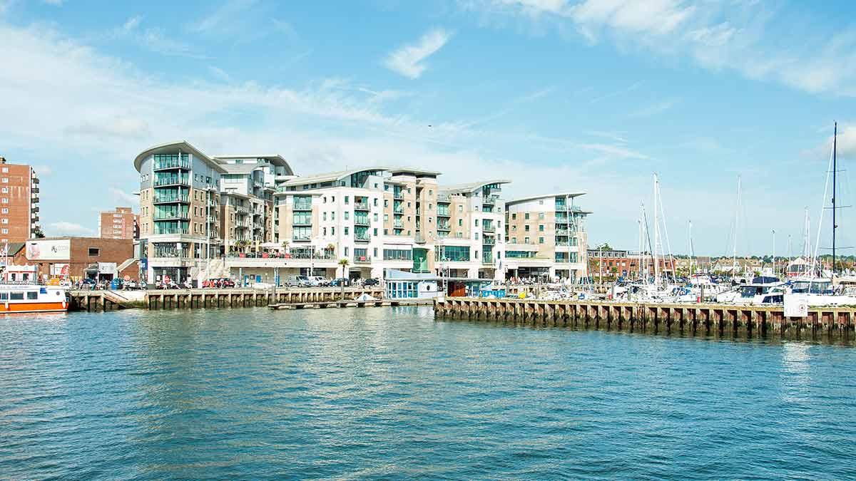 Poole Harbour in Dorset