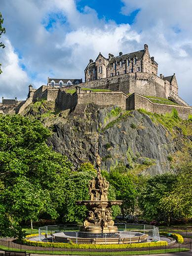 Kasteel van Edinburgh