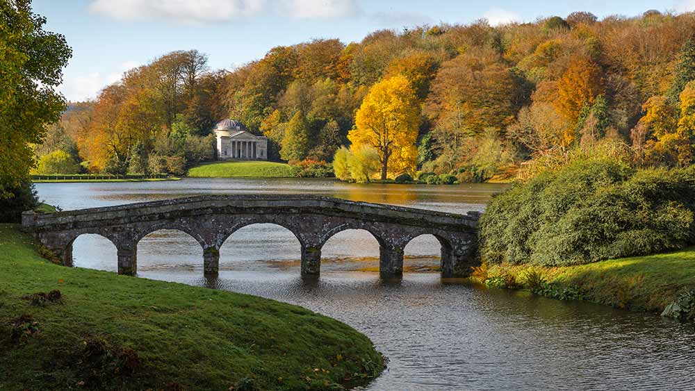 Stourhead in de herfst