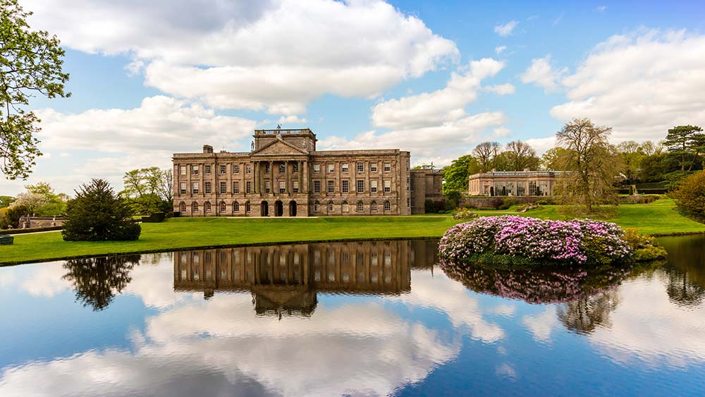 Stately home in Cheshire