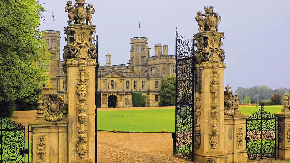 Stately home in Northamptonshire