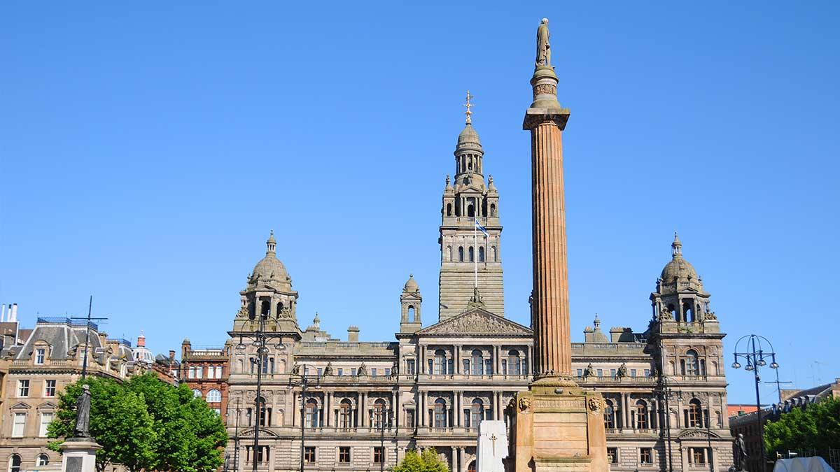 George Square à Glasgow