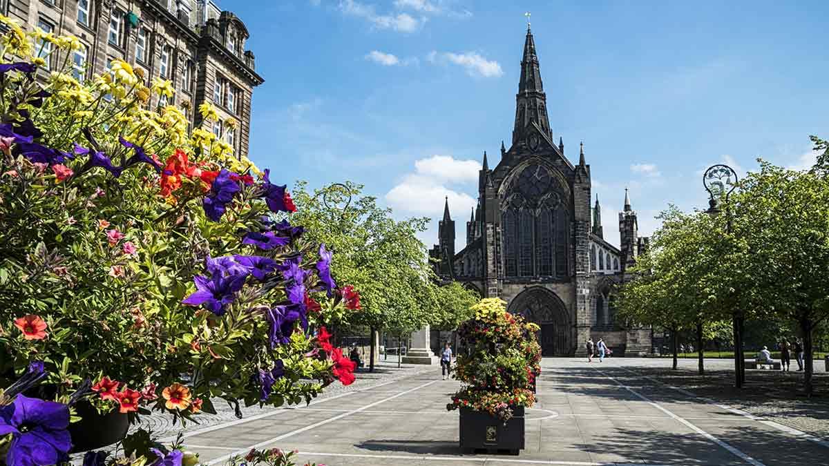 La cathédrale de Glasgow en Écosse