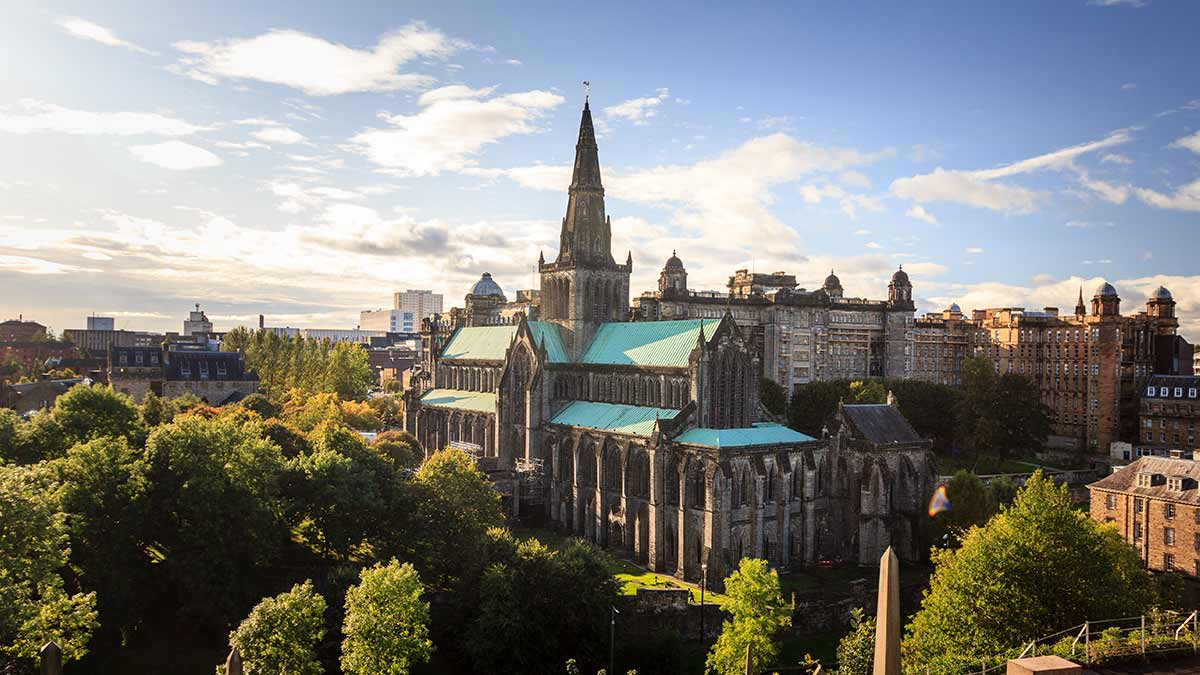 Kathedrale in Glasgow