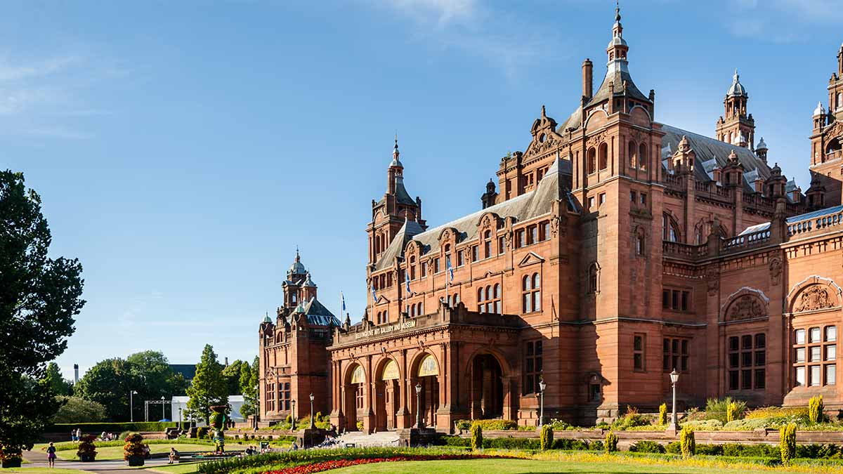 Kelvingrove Art Gallery in Glasgow