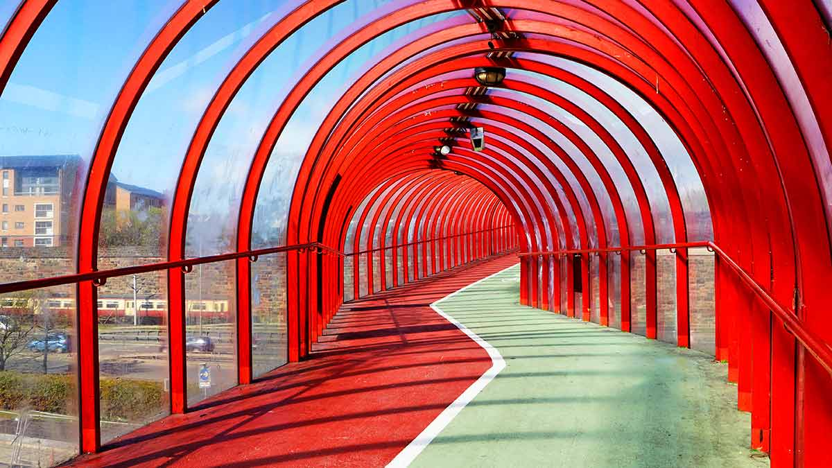 Red Bridge in Glasgow