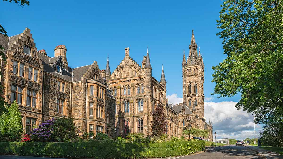 Universität Glasgow in Schottland