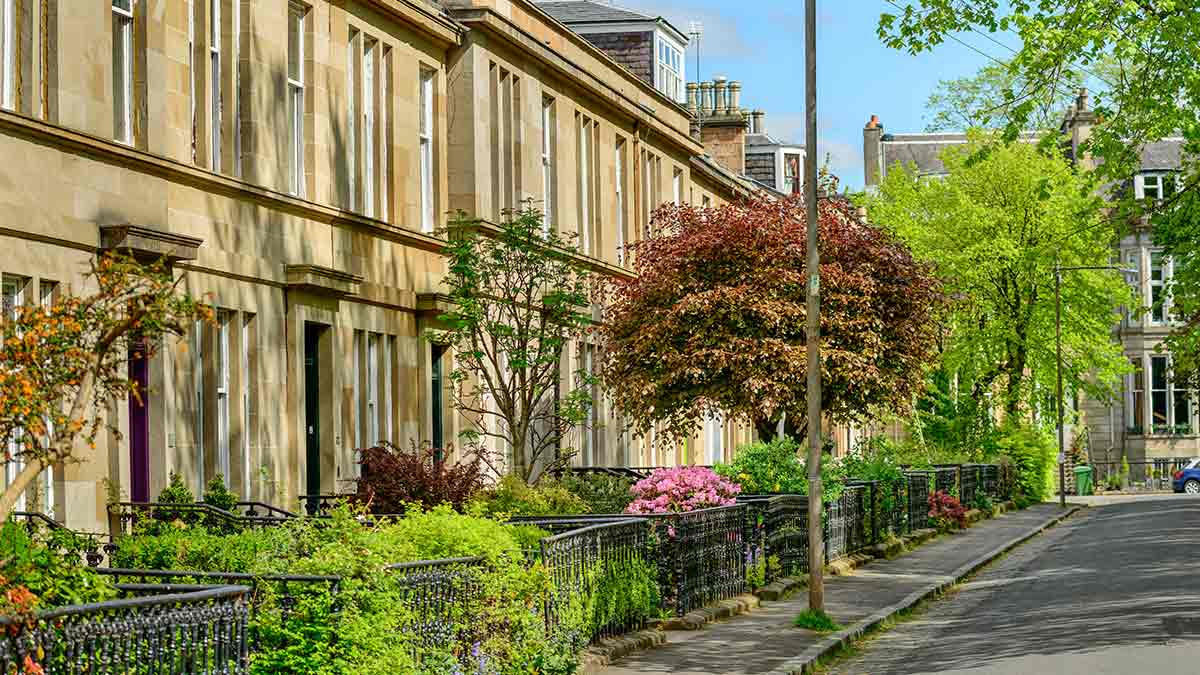 West End à Glasgow