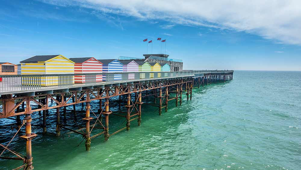 Hastings Pier in England
