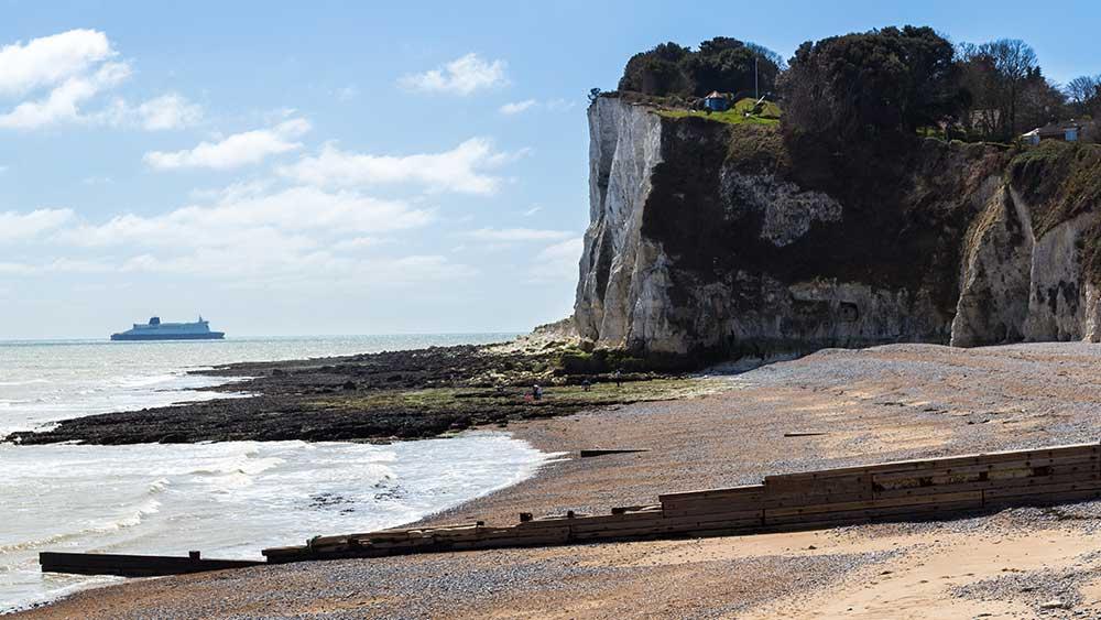 St Margarets Bay in Kent