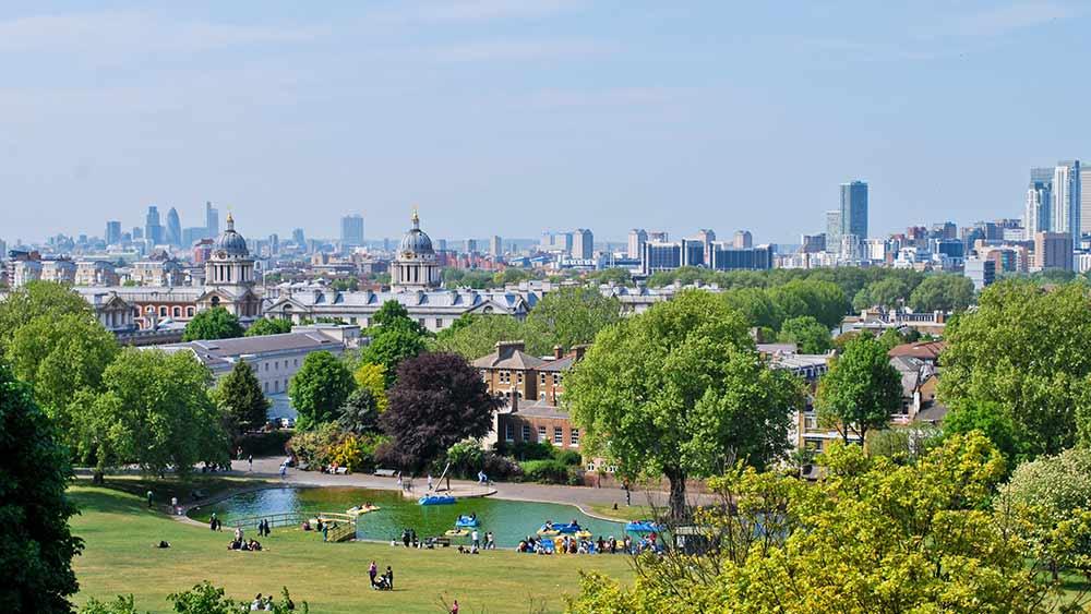 Greenwich Park in London