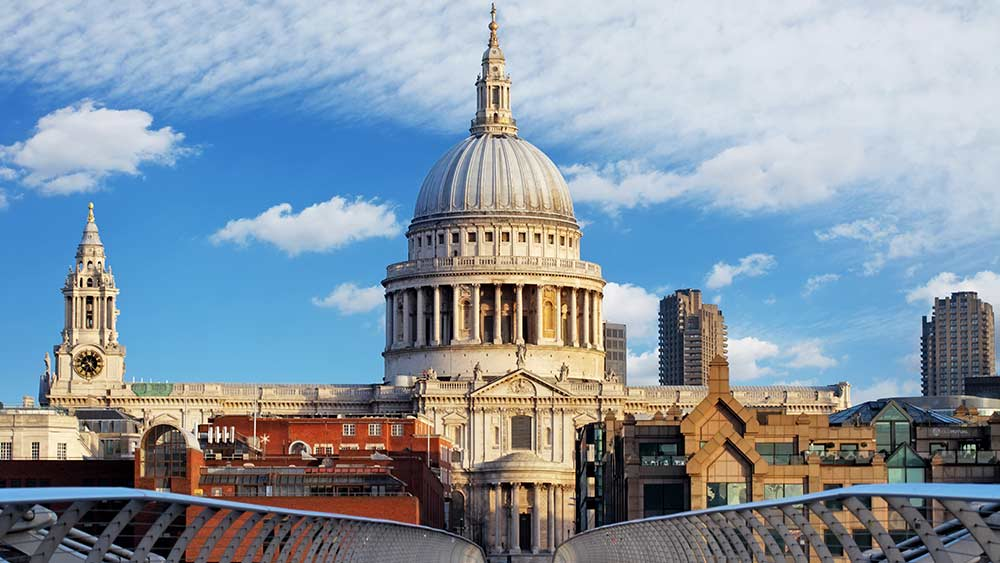 St Pauls Cathedral in Great Britain