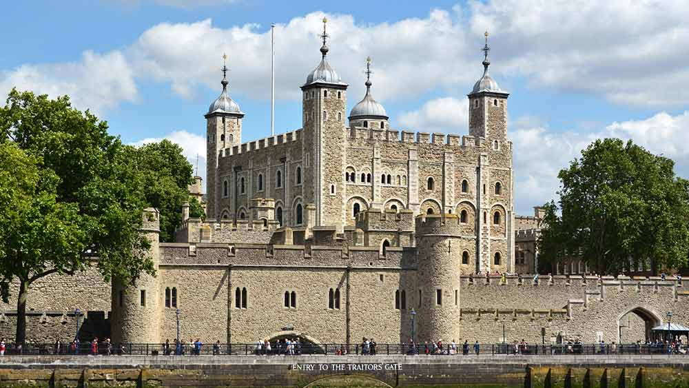 Tower of London in Great Britain