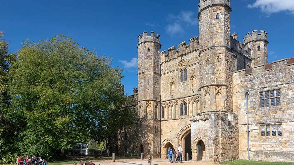 Battle Abbey im Süden Englands