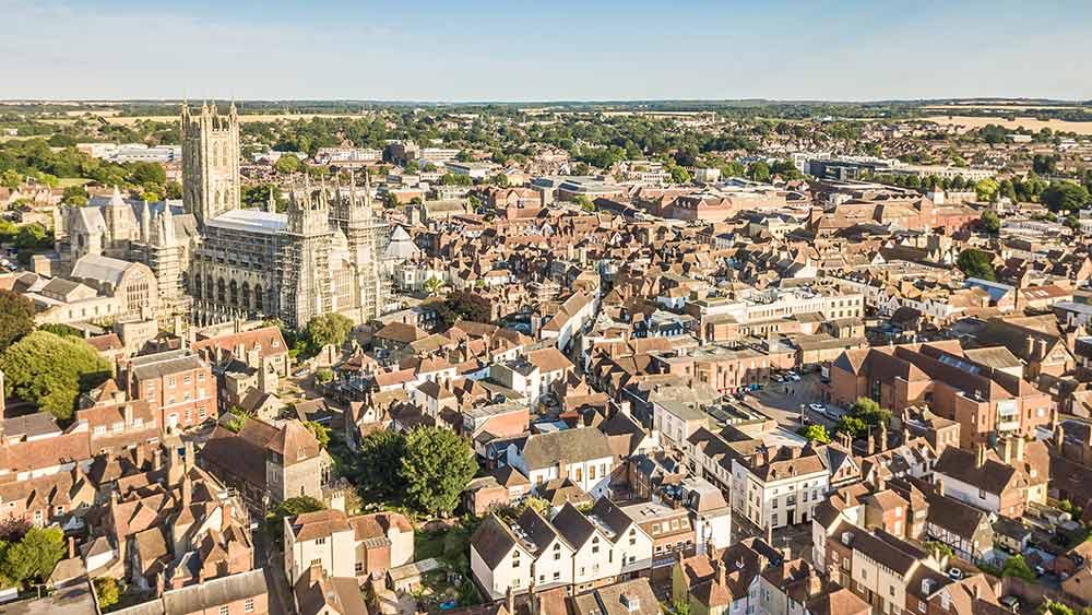 Canterbury in Kent