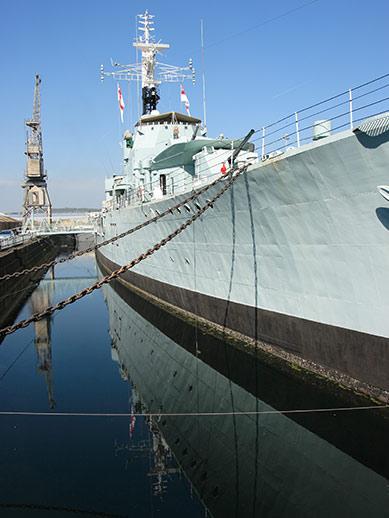 Historische Werft in Chatham