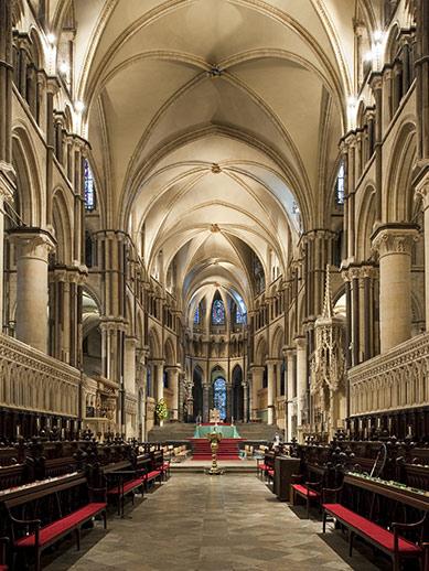 Innenansicht der Canterbury Cathedral
