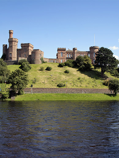 Castle at Inverness