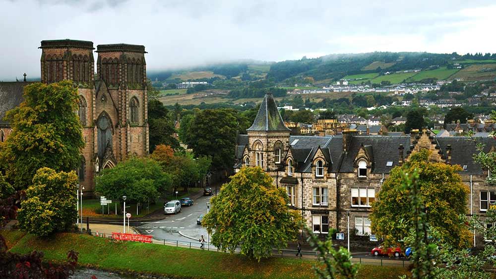 La cathédrale St Andrews à Inverness