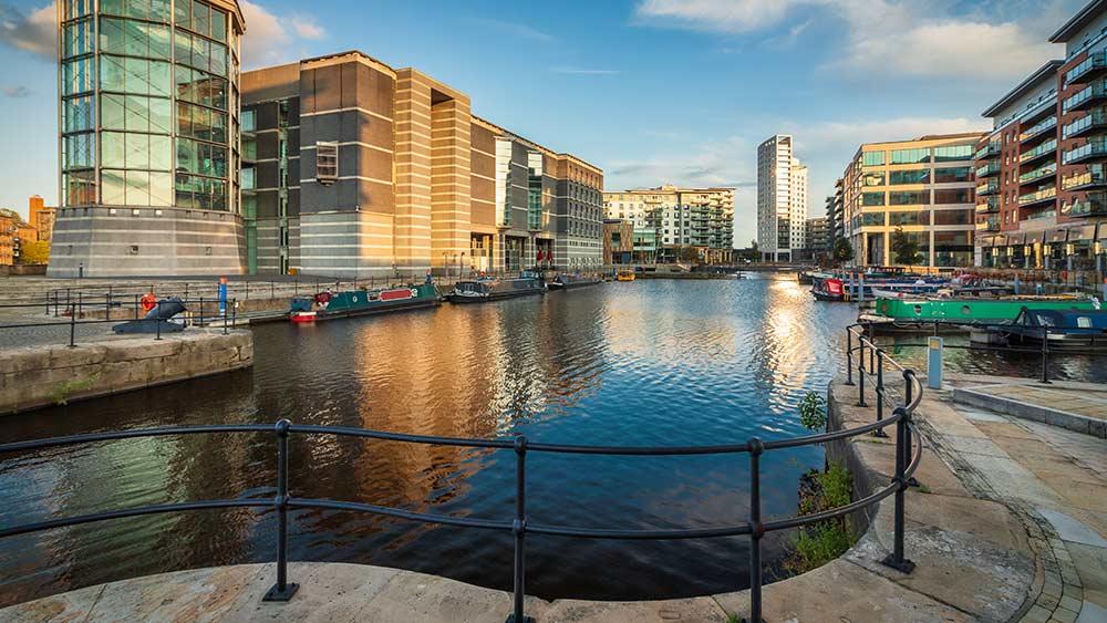 Clarence Docks in Leeds