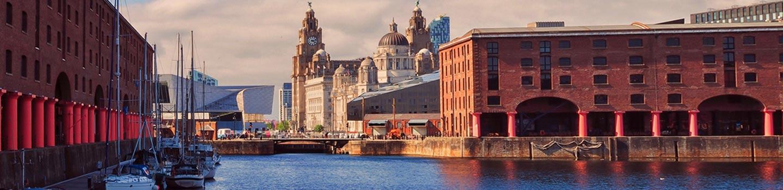 Royal Albert Dock in Liverpool Engeland