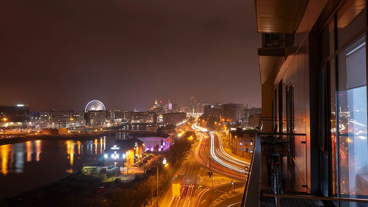 Fährterminal Liverpool