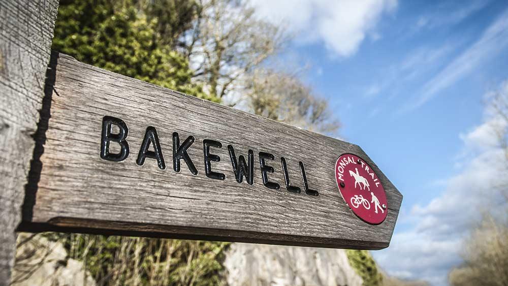 Bakewell in het Peak District