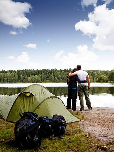 Camper dans le Peak District