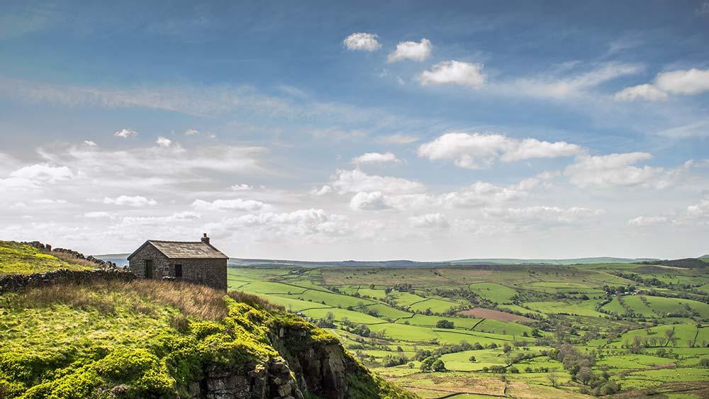 Peak District en Angleterre