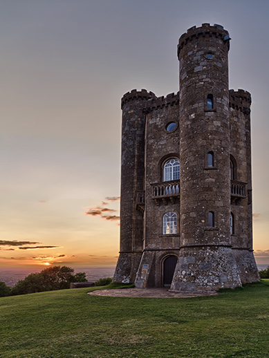 Broadway Tower in Cotswold
