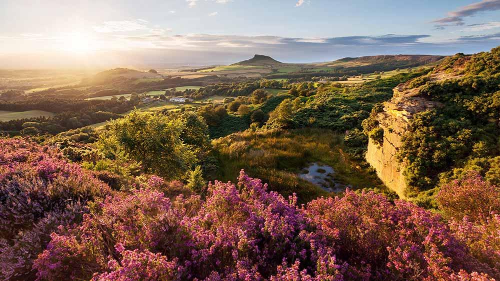 Sunset North York Moors