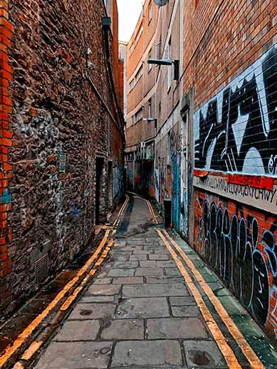 Straatkunstwandeling in Bristol