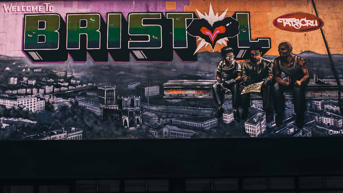 Welcome to Bristol Street Art Mural