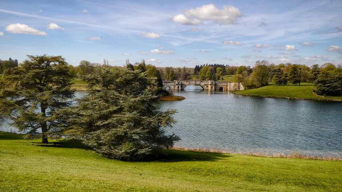 Le Blenheim Palace dans l'Oxfordshire en Angleterre
