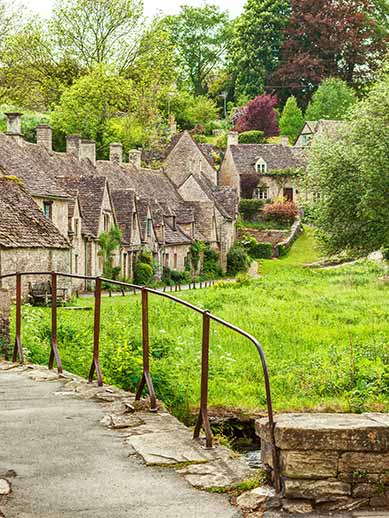 Chipping Norton in Cotswolds England