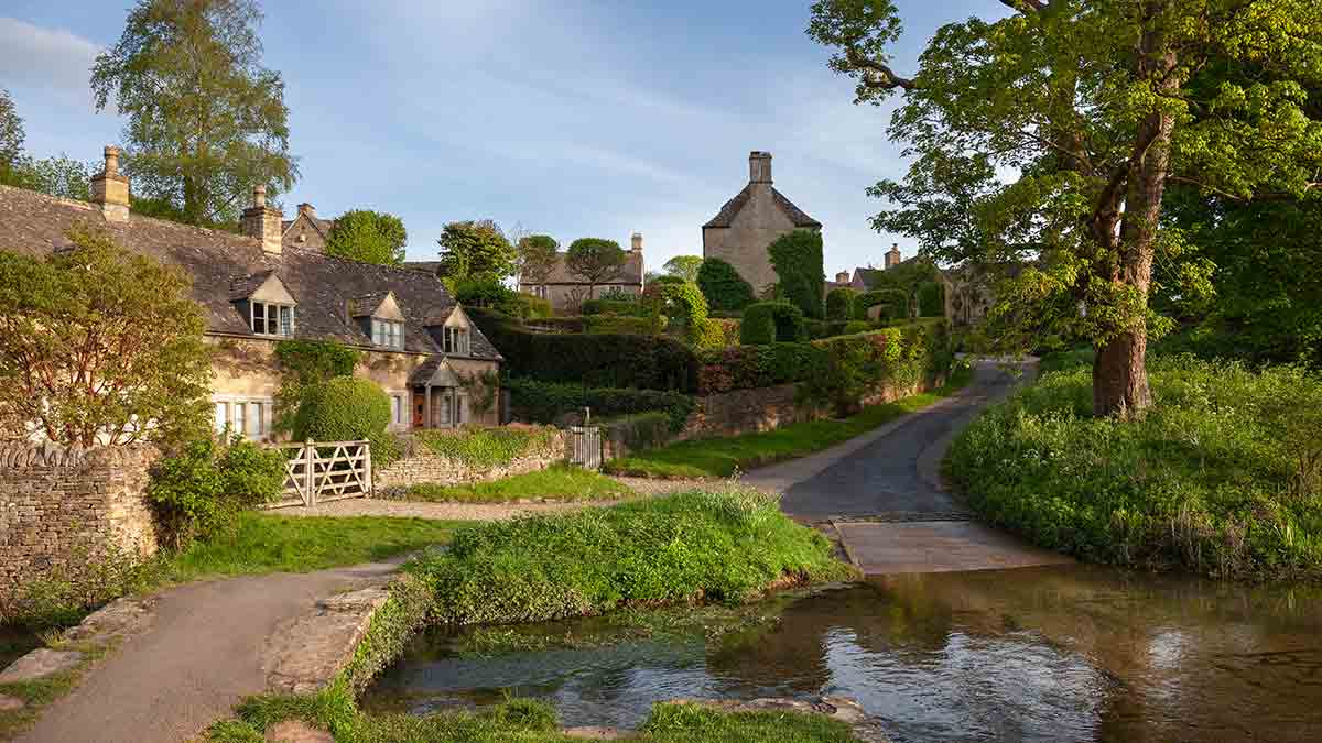 Cotswolds Dorp in Engeland