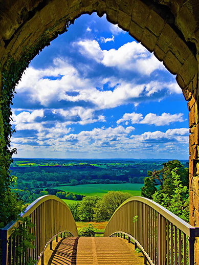 Cheshire in England