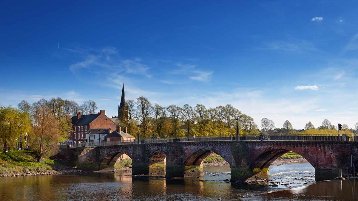 Chester in Engeland