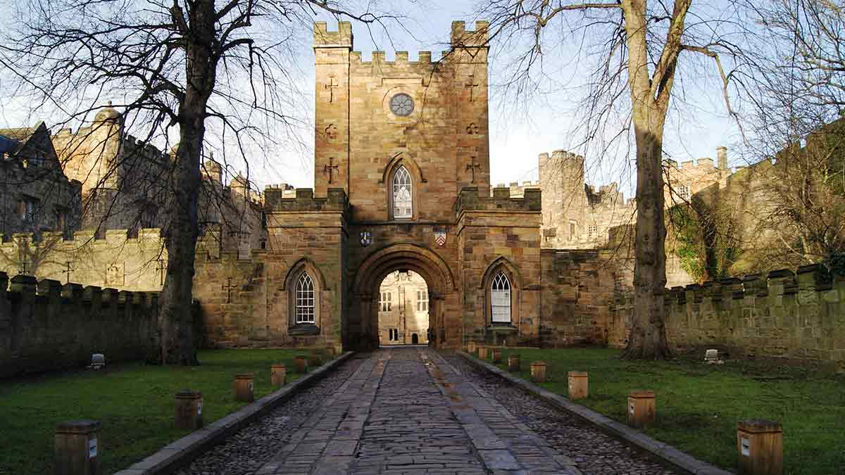 Château de Durham en Angleterre